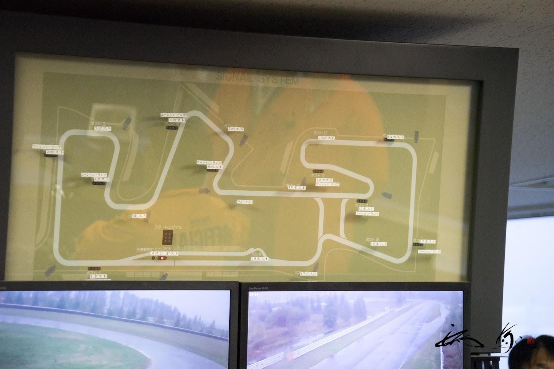 サーキットコースマップ