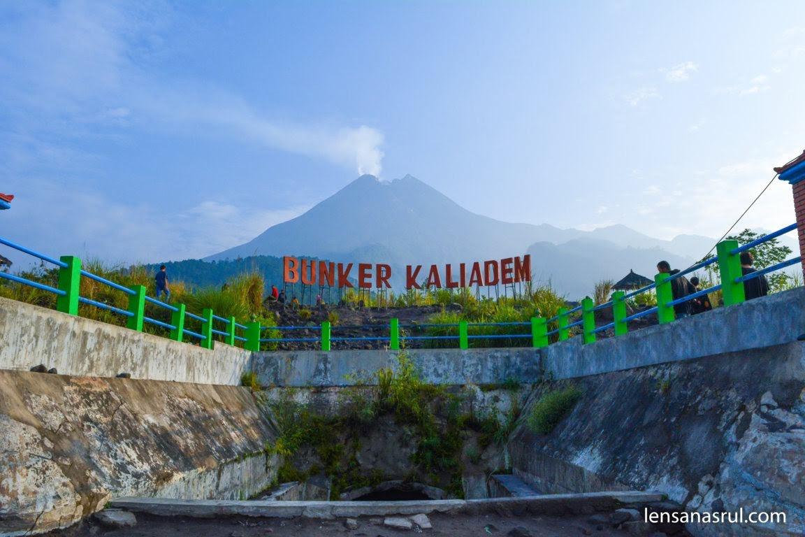 Pemandangan Gunung Merapi dari Pintu Bunker Kaliadem