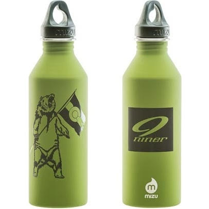 Niner Mizu M8 PDI Stainless Bottle - Soft Touch Green