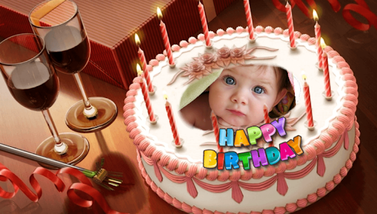 Birthday cake frames apps on google play screenshot image publicscrutiny Choice Image