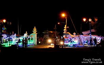 Photo: Odong Odong at night time in Yogyakarta, Java, Indonesia