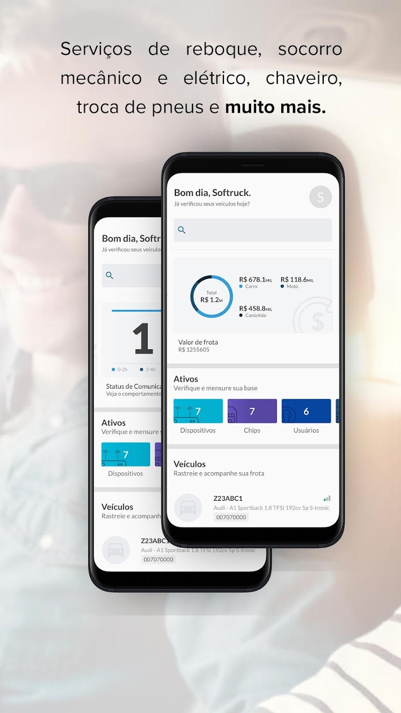 Скриншот Mais Apoio