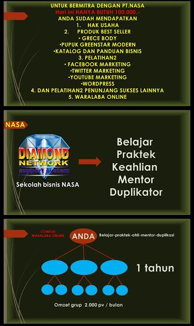 PELUANG BISNIS NASA 085231271500