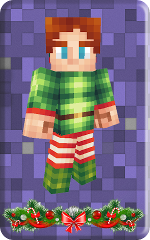 android Christmas skins for Minecraft Screenshot 3