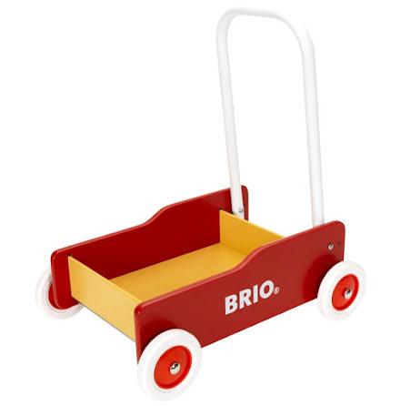 BRIO Lära-gå-vagn, Röd