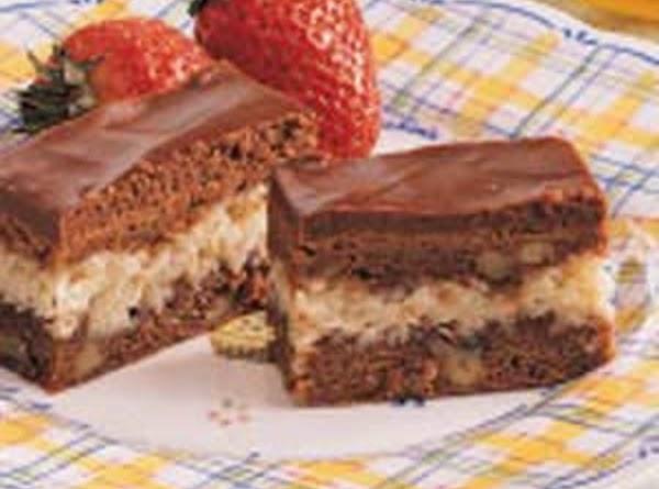 Amazing Macaroon Brownies Recipe