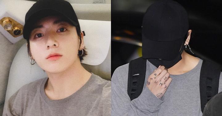 Jungkook Tattoo On His Shoulder