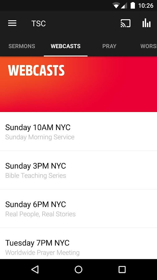 Times Square Church- screenshot