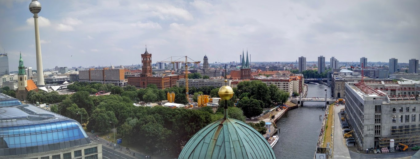 View From Top of Berlin Dom
