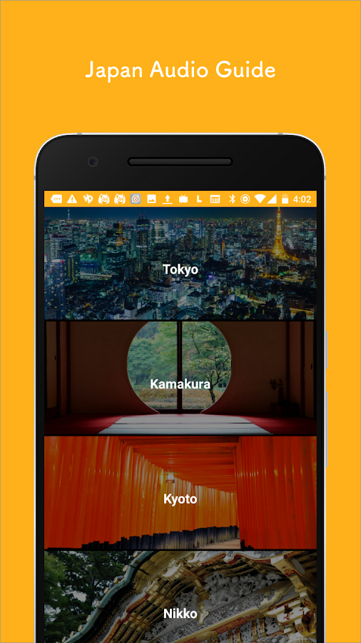 Pokke - Japan Audio Guide Tours- screenshot