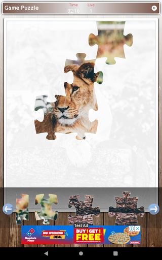 Lion Game Jigsaw Puzzle  screenshots 15