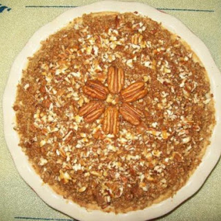 Caramel Apple Pecan Crunch Pie