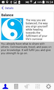 Yoga Numerology Lite - náhled