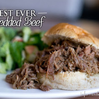 The Best Ever Crockpot Shredded Beef