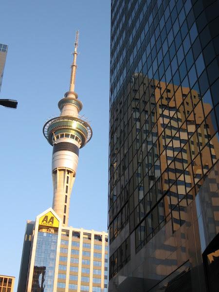 Photo: Sky Tower, Auckland, New Zealand