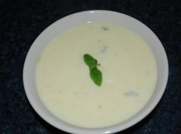 Yogurt Soup Recipe