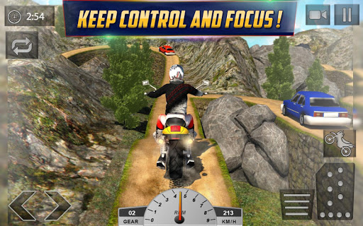 Crazy Offroad Hill Biker 3D screenshot 08