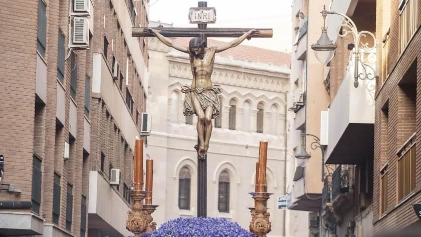 Imagen del Cristo de la Buena Muerte.