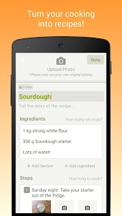 Cookpad - Create your own Recipes- screenshot thumbnail