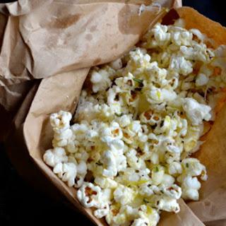 Rosemary Parmesan Popcorn