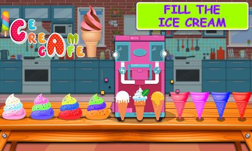 Rainbow Ice Cream Cone & Popsicle Maker Game 1.0 screenshots 4