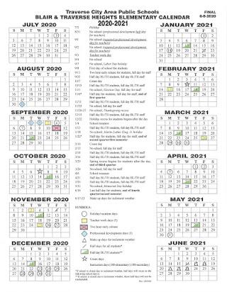 Tcaps Calendar 2021 Guest Teacher Handbook   2020/2021
