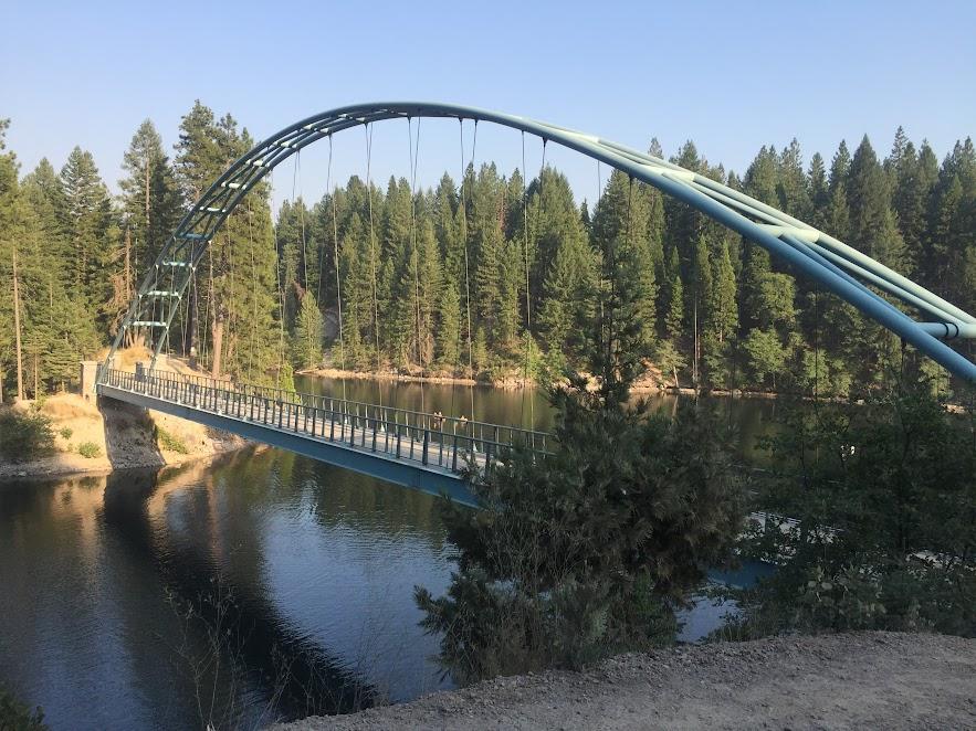 walkover bridge
