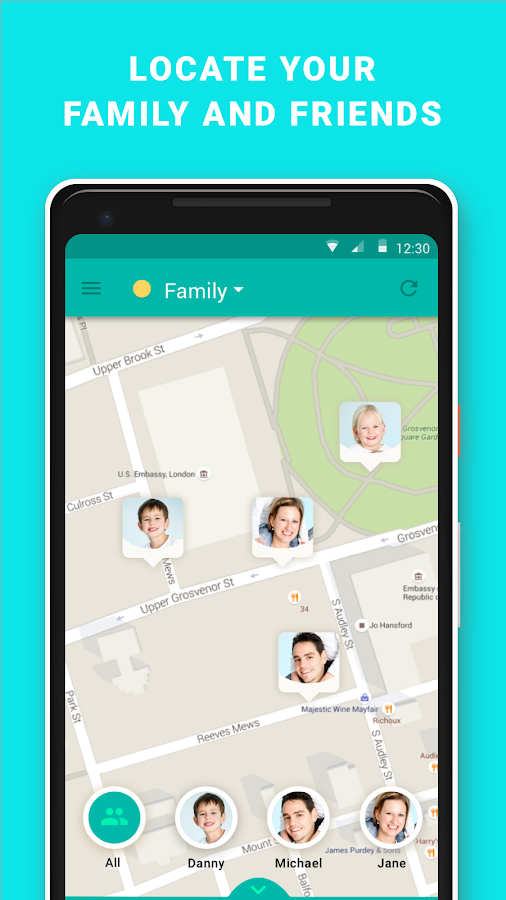 GeoZilla GPS Locator – Find Family & Friends- screenshot