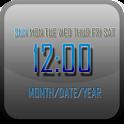 シンプル時計ウィジェット icon