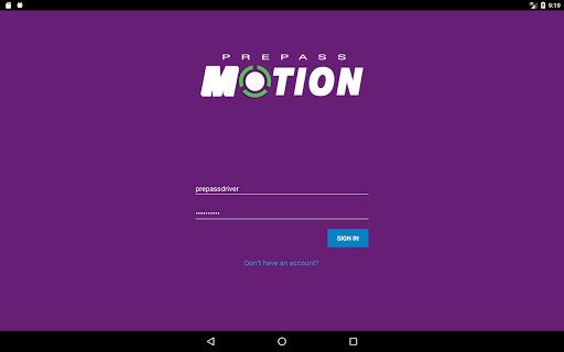 PrePass MOTION screenshot 1