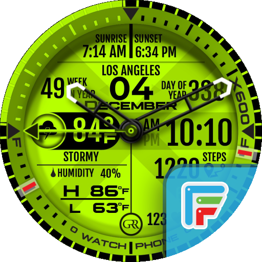 GRR  X600M Watch Face