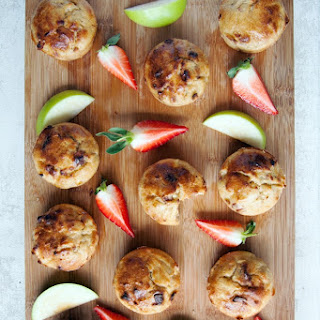 No Junk Apple And Strawberry Muffins (kid's Recipe).