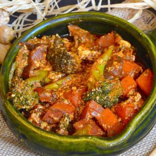 Korean Spicy Stew With Silky Tofu [Vegan, Gluten-Free].