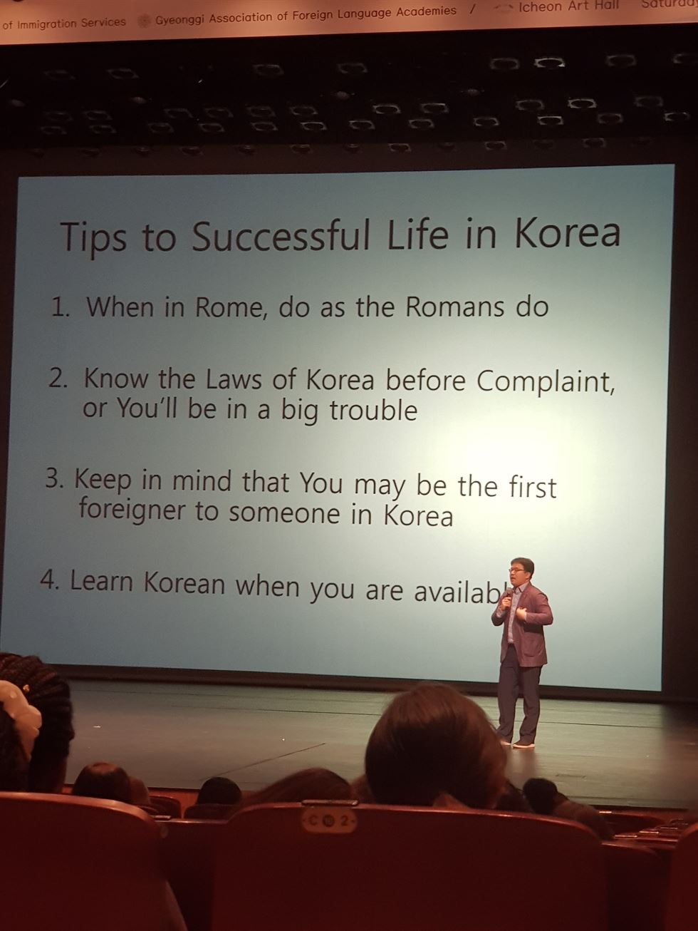 tips to succesful life in korea