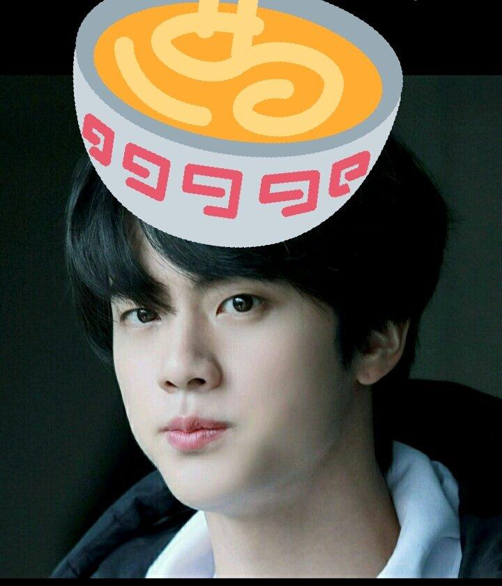 bts jin noodles 1