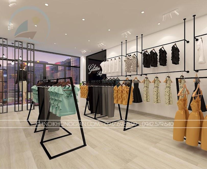 thiết kế shop thời trang giá thành rẻ Glitter 3