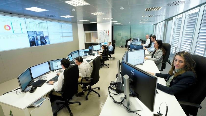 Departamento de informática de la cadena Mercadona.