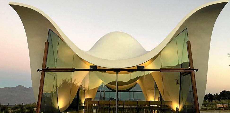 Divine Inspiration Winged Bosjes Chapel S Architecture