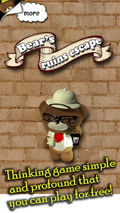 How to mod Bear's ruins escape 1.0 unlimited apk for pc