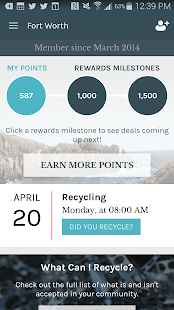 Recyclebank- screenshot thumbnail