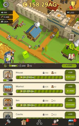 Medieval: Idle Tycoon - Idle Clicker Tycoon Game apktram screenshots 10