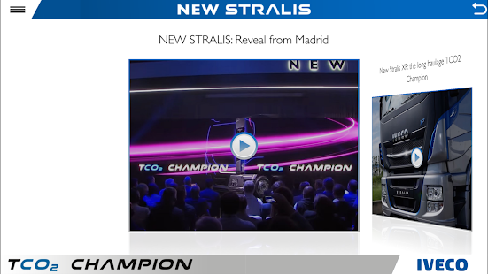IVECO NEW STRALIS phones- screenshot thumbnail