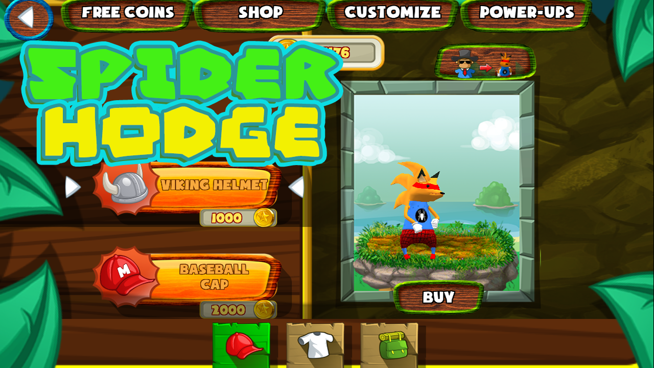 Spider Hodge- screenshot
