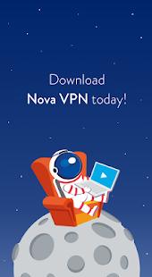 NovaVPN - náhled