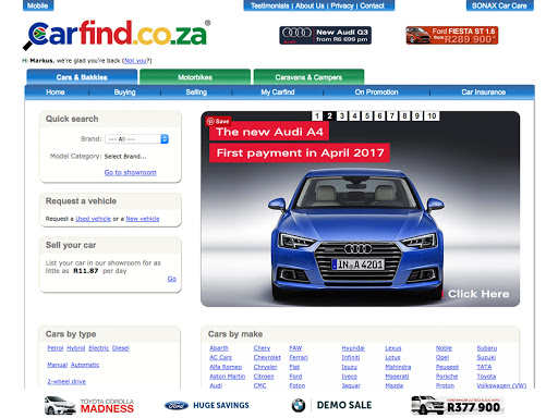 玩免費遊戲APP|下載Carfind.co.za - Cars for Sale app不用錢|硬是要APP