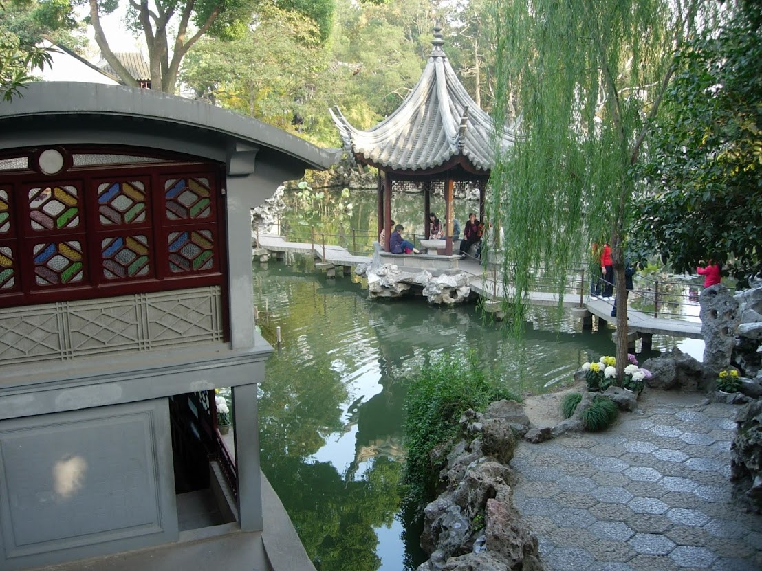 Jardin de la Forêt du Lion à Suzhou