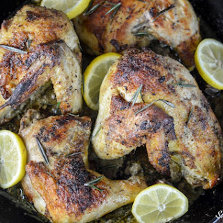 Lemon Rosemary Garlic Chicken