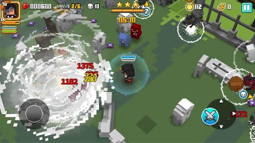 Trận chiến trong game Pixel Knights hack bởi ApkVui.Com