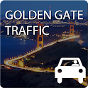 Traffic Golden Gate, SF icon