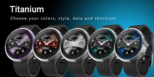 Titanium Watch Face  screenshots 3